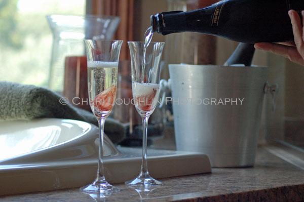 Champagne Pour - copyright Cheri Loughlin