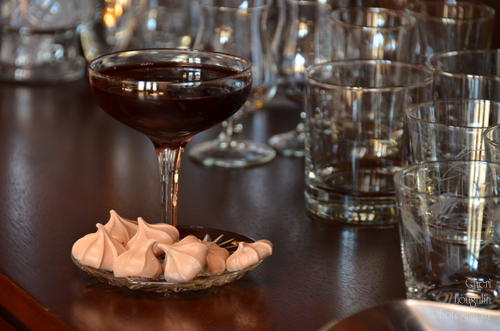 Barefoot Chocolate Martini - Cheri Loughlin Cocktail Development Services