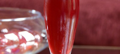 Barefoot Holiday Sparkler - Cheri Loughlin Cocktail Development Services