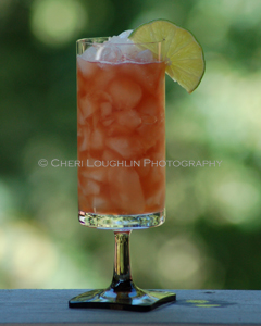 Jack Daniels Black Raspberry Margarita - photo copyright Cheri Loughlin