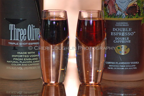 Triple Shot-Double Espresso Comparison - photo copyright Cheri Loughlin