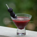 Wild Blackberry Low Calorie Cocktail