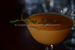 About Thyme Mocktail - created by Cheri Loughlin - photo copyright Cheri Loughlin