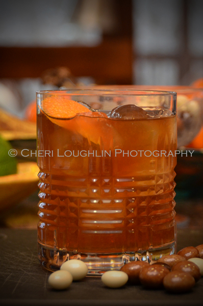 Spiced Sidecar with Spiced Rum - photo credit Cheri Loughlin