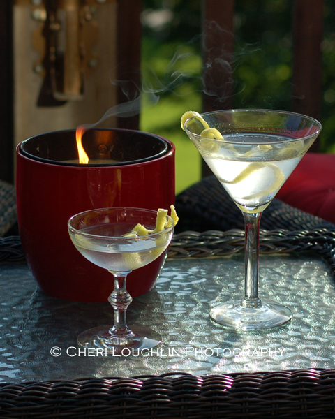 Two Martinis Outdoors 4 photo copyright Cheri Loughlin