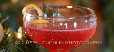 Blueberry Lavender Syrup Cocktail 032 photo copyright Cheri Loughlin