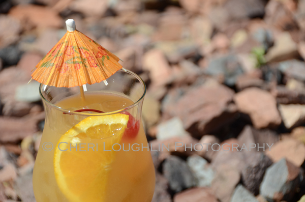 Warlock Punch is loosely based on the Bermuda Triangle drink. Make this drink a single or multiply the ingredients for pitcher serve. - photo by Cheri Loughlin, The Intoxicologist
