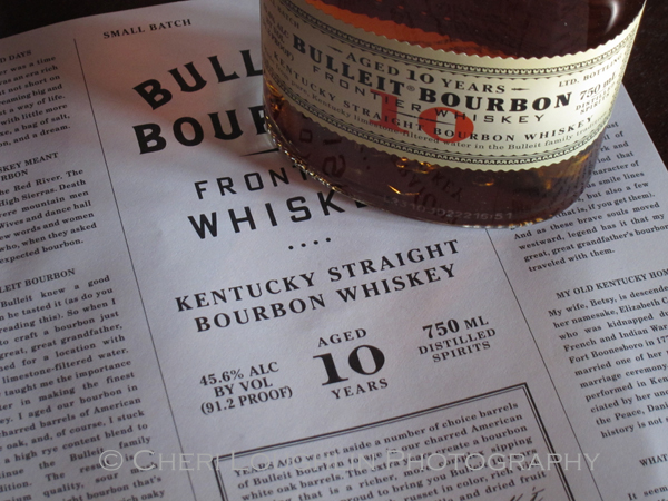 Bulleit Bourbon Frontier Whiskey 10yr 010 photo copyright Cheri Loughlin