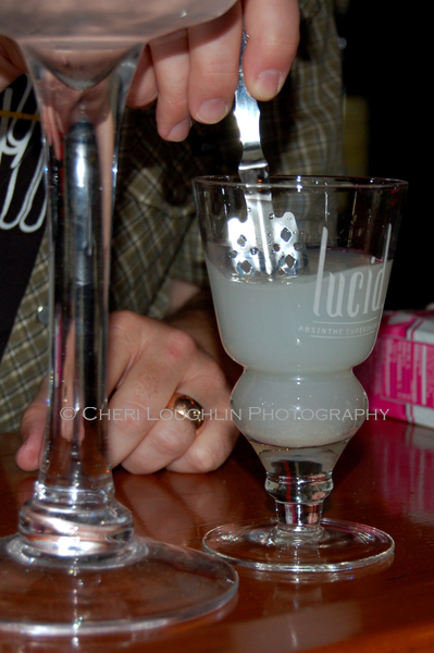 Lucid Absinthe Tasting Dundee Dell 6 photo copyright Cheri Loughlin