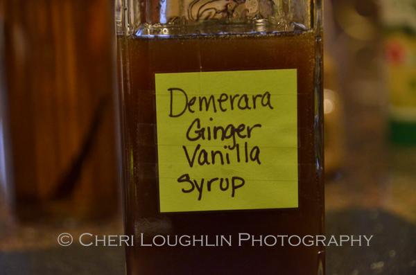 Demerara Ginger Vanilla Syrup 284