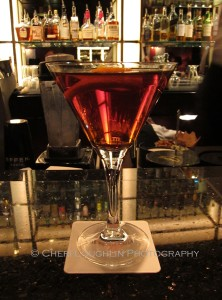 The Martinez Cocktail from The Bar at The Peninsula Chicago