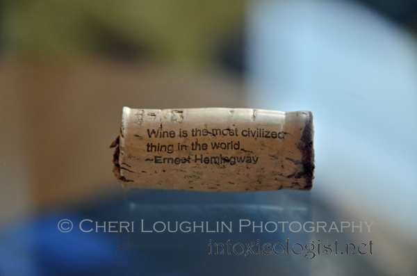 ONEHOPE Wine Cork Ernest Hemingway Quote 013