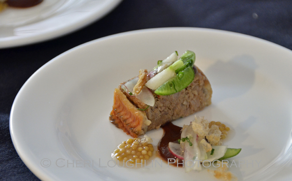 Pork Terrine Glazed Eel & Pickled Mustard Seed 144