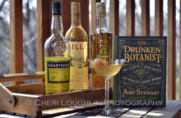 The French Intervention Cocktail from The Drunken Botanist, The Plants That Create The World's Great Drinks - book by Amy Stewart - photo by Cheri Loughlin