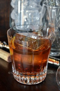 Vieux Carre Classic Cocktail on the Rocks with Glace Ice Image 012 1