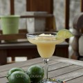 No Blender Frozen Modern Margarita is an adapted version of the Roja Grill Modern Margarita - photo and frozen recipe by Cheri Loughlin, The Intoxicologist