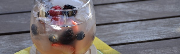 Every season is perfect for berries, but summer is the peak season for beautiful, delicious, huge berries. Who can resist?! Yeah, me neither. All the Beautiful Berries Sangria recipe and photo by Mixologist Cheri Loughlin, The Intoxicologist