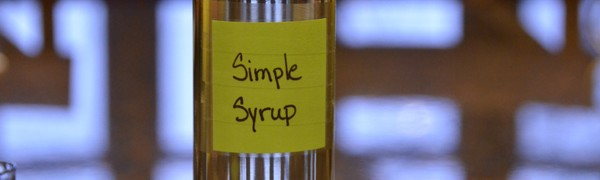 Having a basic Simple Syrup recipe in your personal cocktail recipe folder is essential for every home bartender. - photo by Cheri Loughlin, The Intoxicologist