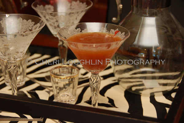 Blood and Sand Scotch Cocktails - This classic dates into the 1930's, but little else is known about the drink's creation. - photo by Mixologist Cheri Loughlin, The Intoxicologist