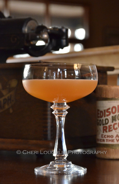 Mark Twain Classic Scotch Cocktails. Recipe dates back to at least 1874. Classic Cocktail using scotch or single malt scotch whisky. Recipe consists of scotch, lemon or fresh lemon sour, sugar or simple syrup, classic bitters or Angostura bitters. - photo by Mixologist Cheri Loughlin, The Intoxicologist