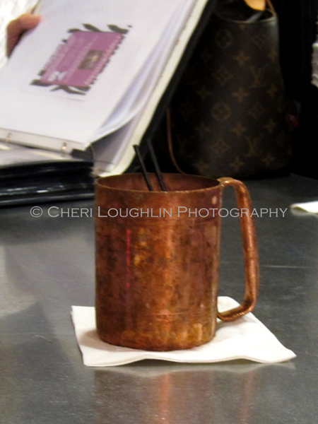 Moscow Mule with Vodka and Ginger Beer served in a traditional copper mug at Liv Lounge birthday event in Omaha, Nebraska. ~ photo by Mixologist Cheri Loughlin, The Intoxicologist