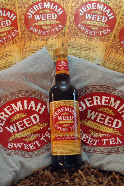 Jeremiah Weed Sweet Tea Vodka is 70 proof Southern stlye sweet tea flavored vodka brought to the public by Mr. Jeremiah Weed, the original Southern gentlemen. - photo by Mixologist Cheri Loughlin, The Intoxicologist