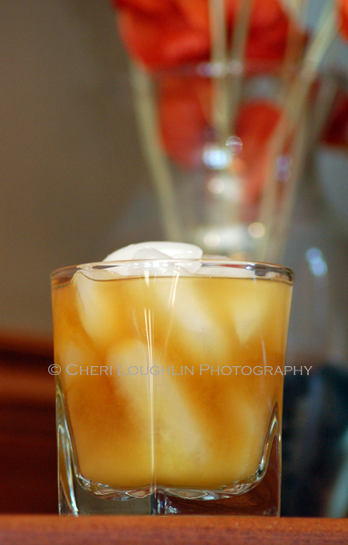 Orange Swell uses Jeremiah Weed Sweet Tea Vodka. It is fabulously rich and warming with the addition of orange liqueur. - recipe by Aaron Yeats, photo by Mixologist Cheri Loughlin, The Intoxicologist