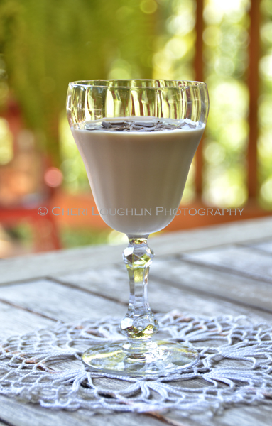 Peanut Creme Espresso - Avion Espresso Liqueur 074 is a peanut creme influenced Espresso Martini that happens to include a tequila espresso liqueur in place of the usual coffee liqueur. - recipe and photo by Mixologist Cheri Loughlin, The Intoxicologist
