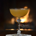 Apricot Bonfire Fall Cocktail takes the classic Daquiri from summer to autumn by using dark rum and apricot flavors to warm the palate. {photo credit: Mixologist Cheri Loughlin, The Intoxicologist www.intoxicologist.net}