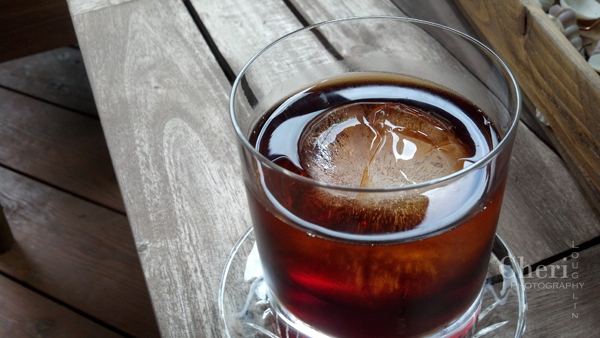 Old Ironsides: Spiced rum, Heering Cherry Liqueur, Cynar Artichoke Aperitif. Recipe credit: Sean Kenyon of Willams & Graham in Denver. Photo credit: Mixologist Cheri Loughlin, The Intoxicologist. www.intoxicologist.net