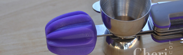 Quench Products bar10der Bar Tool Giveaway - Muddler, Reamer, Jigger {photo credit: Mixologist Cheri Loughlin, The Intoxicologist