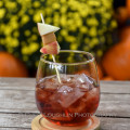 Red Reindeer Punch was originally created for a fall football tailgate party. The flavors reflect the fall season and the colorful red drink was for team spirit. {recipe and photo credit: Mixologist Cheri Loughlin, The Intoxicologist www.intoxicologist.net}