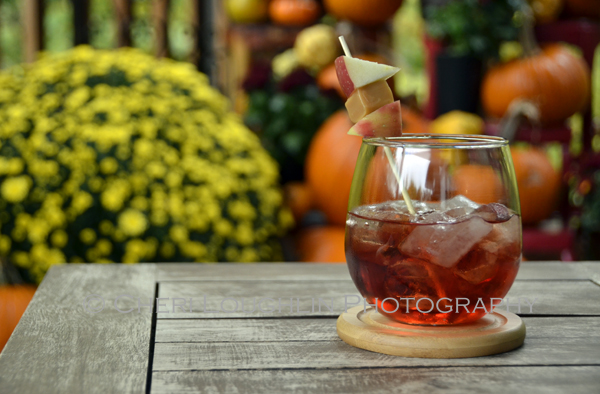 Red Reindeer Punch tastes of caramel apple, soft cranberry and ginger spice. It is excellent for holiday gatherings with friends, family or co-workers. {recipe and photo credit: Mixologist Cheri Loughlin, The Intoxicologist www.intoxicologist.net}