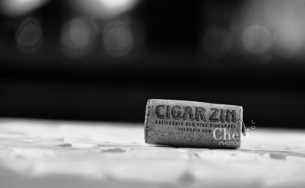 The Cigar Zin wine cork reminds me of a man cave with or without the smoking lounge.