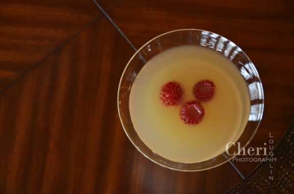 Citrus Mistress – from Sake: A Modern Guide by Beau Timken and Sare Deseran 2 ounces Sake 1/2 ounce Cointreau 1/4 ounce Chambord 1/2 ounce fresh Lime Juice 1/2 ounce fresh Orange Juice Fresh Raspberries Garnish