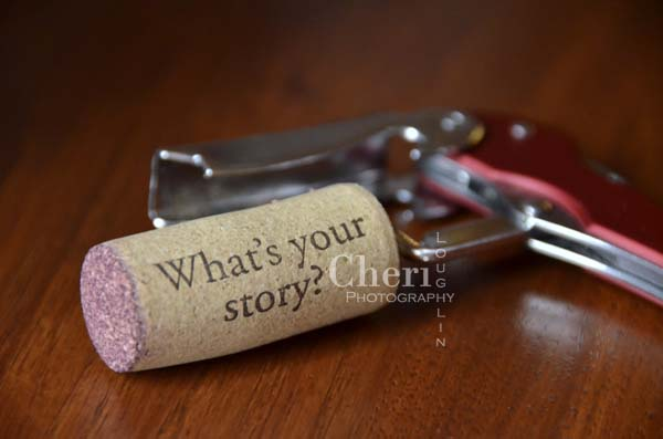 What's Your Story Wine Cork