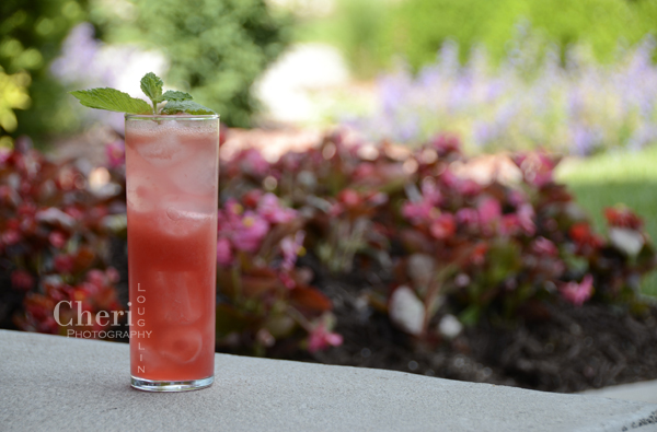 Raspberry Watermelon Mojito - Shellback Silver Rum, Watermelon, Raspberries, Lime, Mint, Simple Syrup, Club Soda or Champagne