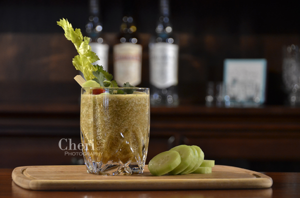 it's time to get your Green Mary on! Fresh cucumber and cilantro blend beautifully in this delicious spicy green frozen Mary's Morning After Bloody Mary.