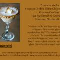 Smoretini Halloween Recipe Card - photo and recipe provided by brand representatives. Recipe card created by Cheri Loughlin, The Intoxicologist LLC