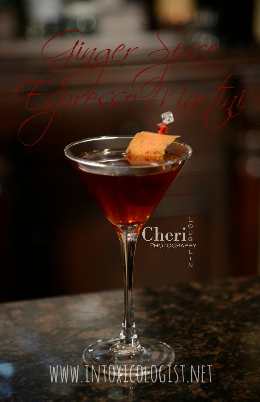 Ginger Spice Espresso Martini The Intoxicologist